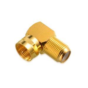 Cable Rg6 Coaxial De Tipo F 10-pack, Oro Plateado Del