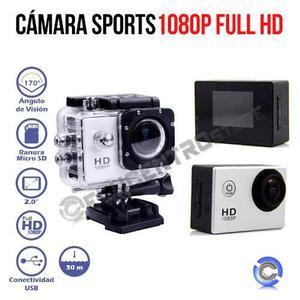 Cámara Acuatica Sport Cam Deporte Extremo Full Hd