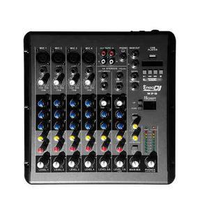 Consola Mezclador Audio Pro Dj Mp8 6ch