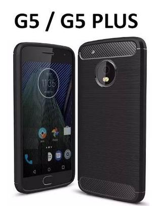 Forro Estuche Protector Funda Moto G5 / G5 Plus + Vidrio 9h