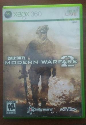 Juego Call Of Duty Modern Warfare 2 X360