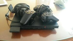 Playstation 2 con Dos Controles