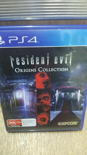 Resident Evil Origins Play 4