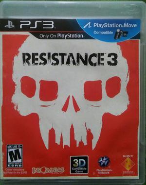 Resistance 3 Ps3 Cambio
