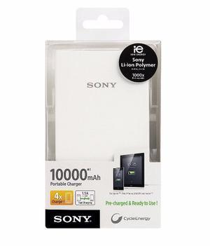 Sony Batería Externa Power Bank  Mah, Alta Capacidad