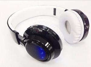 Audifonos Bluetooth De Lujo Ab-005 Diadema Mp3 Fm Memoria Sd