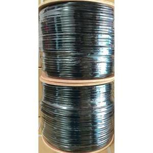 Cable Ftp Categoria 6 Exterior Color Negro, Certificado