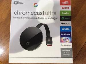 Chromecast  Ultra 4k Nuevo Sellado *entrega Inmediata*