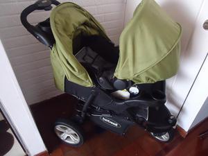 Coche bebe con silla para auto posot class for Coches de bebe con silla para auto