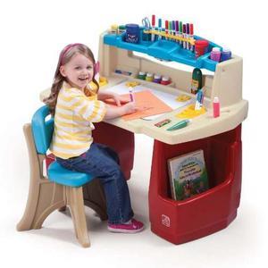 escritorio de arte para nios step original envio gratis