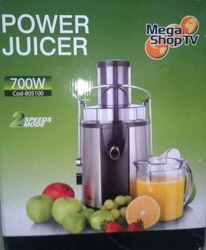 Extractor de Frutas y verduras Power Juicer 700W