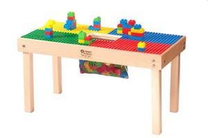 Lego Duplo Compatibles Heavy Duty Wood Table-32