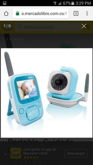 Monitor de Bebe con Video a Color