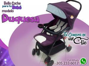 Precioso y elegante Coche modelo DUQUESA para tu Bebé.