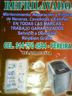 Técnico en Refrigeración Y Lavadoras