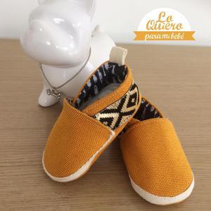 Zapatos para bebes tipo babucha, diseños exclusivos