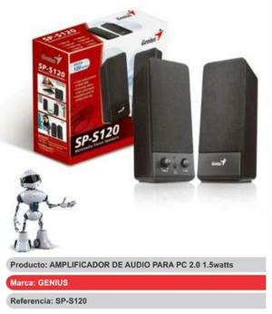 Amplificador Altavoz De Audio Para Pc watts Genius