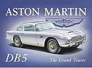 Imán De Nevera Acero De Aston Martin Db5 (fd)