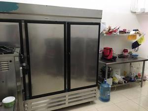 Nevera Refrigeradora Comercial 3 Puertas Inducol