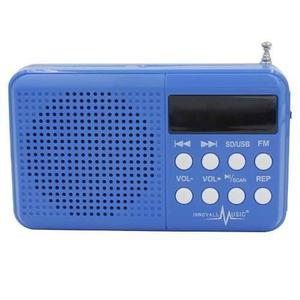 Parlante Altavoz Inalambrico Portatil Recargable Radio Usb
