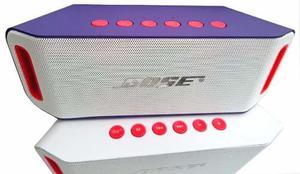 Parlante Bluetooth Mujer Morado Potent 5w,usb,sd,fm +obsequ
