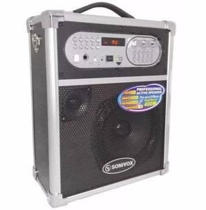 Parlante Sonivox  Portable 400w Bluetooh Fm Microfono