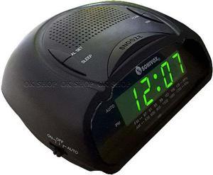 Radio Reloj Despertador Digital Am Fm ¡ Visión Nocturna !
