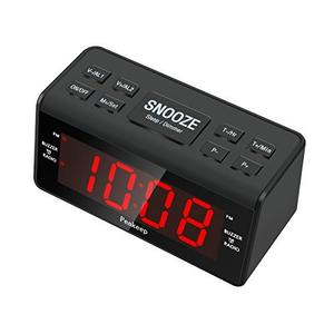 Reloj Despertador Digital Led De Mesa Peakeep