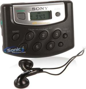 Sony Srfm37 Walkman Portatil Am Fm Radio Tuner Digital X01