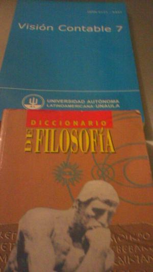 vendo dos libros de contabilidad y dos de filosofía.
