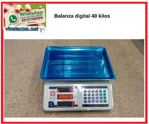 Balanza digital hasta 40 kilos