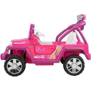 Carro Fisher-price Para Niñas Power Wheels Barbie Deluxe