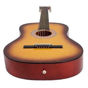 Guitarra Acústica/guitarra W Caso, Correa, Afinador Y Pick
