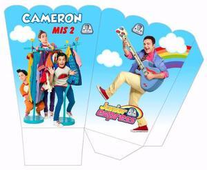 Kit Imprimible Topa + Personajes Del Junior Express Rulos