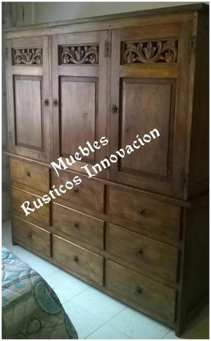 Hogar y muebles ghifonie en madera posot class for Muebles de calidad