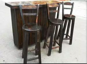 Vendo 5 juegos de mesa para bar o restaurante posot class - Sillas altas bar ...