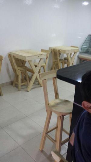 Mesas y Sillas Rusticas
