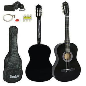 Nuevos Principiantes De Guitarra Acústica Con Funda De