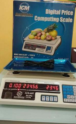Bascula 40 Kilos Icm Con Garantia