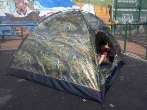 Carpa Para Camping De 3 A 4 Personas