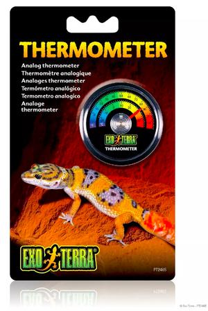 Exo Terra Termómetro Para Terrarios De Reptiles Y Anfibios