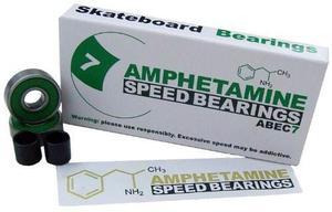 La Anfetamina Abec 7 Cojinetes Del Patín