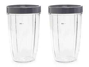 Piezas Preferidas Tall Replacement Cups For Nutribullet Copa