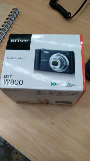 Vendo Camara Sony W800 Nueva Cybershot