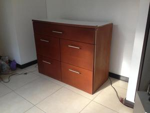 Mueble apardor de madera y hierro posot class for Mueble de madera