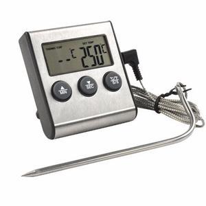 Termometro Digital Con Sonda Y Timer Para Alimentos Comidas