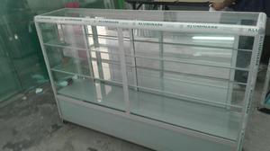 Vitrina Fina Aluminio