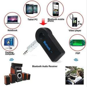 Adaptador Receptor Bluetooth 3.5mm Aux Carro Equipo Música