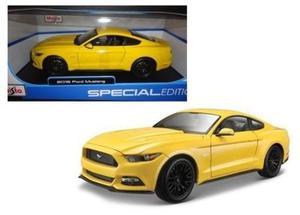 Ford Mustang Gt  Carro Coleccion Escala 1 18 Maisto