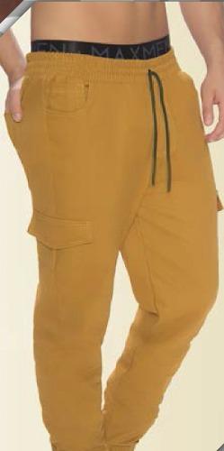 Pantalón Sudadera Jogger Tobillero De Hombre